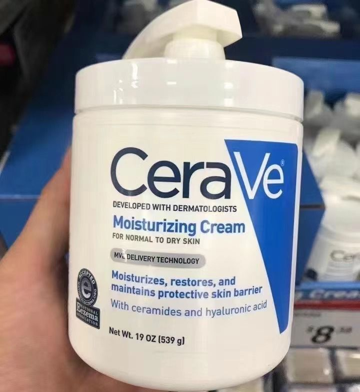 CeraVe是美国唯一含有专利MVE科技的非处方护肤产品线
